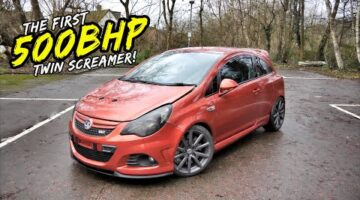 THIS ONE OFF 500BHP *TWIN SCREAMER* CORSA VXR IS BEYOND NUTS!