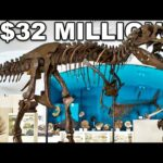 The Most Expensive Dinosaur Was Sold For $32 Million