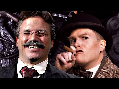 Theodore Roosevelt vs Winston Churchill. Epic Rap Battles of History