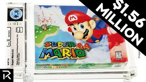 This Super Rare Super Mario Game Is The Most Expensive Video Game In The World