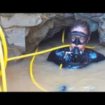 Underwater Cave Diver Finds Massive African Treasure