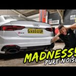 WE CREATED A MONSTER!! INSANE BESPOKE EXHAUST SYSTEM MODS!!