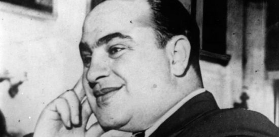 What happened to Al Capone's money after he died?