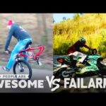 Wins Vs. Fails | Wheelies, Floor Routines, Beam Jumps & More! | PAA Vs. FailArmy!