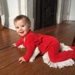You Can Now Get a Baby Mop Onesie So Your Baby Can Clean Floors