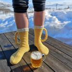 Beer Mug Socks Are Now a Thing, And They Even Have a 3D Handle