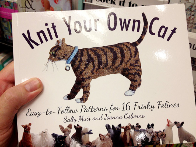 """Knit Your Own Cat"" by Sally Muir and Joanna Osborne"