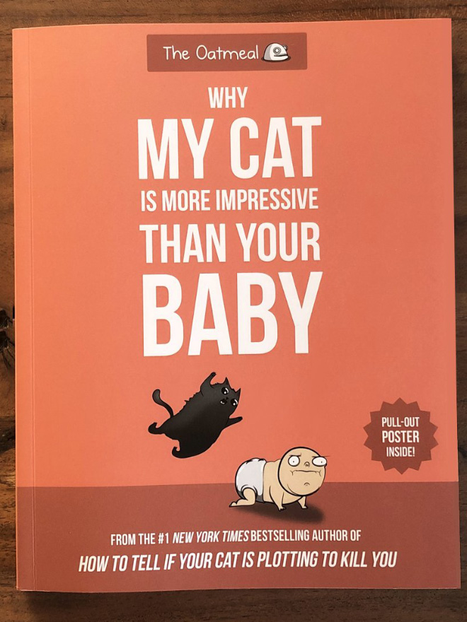 """Why My Cat Is More Impressive Than Your Baby"" by Matthew Inman"