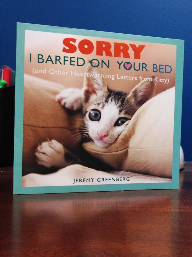 """Sorry I Barfed On Your Bed"" by Jeremy Greenberg"