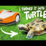 Turning a LAWN MOWER into WHAT?