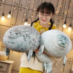 Adorable Round Seal Hugging Pillow Is Taking Over The Internet