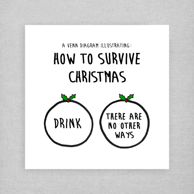 Christmas survival tip.