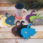 Awkward Etsy Trend: Crocheted Cat Butt Coasters