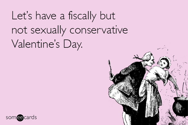 Honest Valentine's day love card.