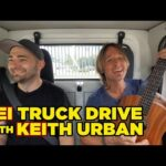 KEI Truck First Drive (picking up a special guest)