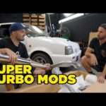 Unboxing and installing ALL the mad parts on our twin charged Nissan