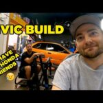 Our Civic is NASTY - Engine work begins! (EP4)