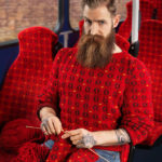 Knitted Sweaters Seamlessly Matching The Surrounding Environment
