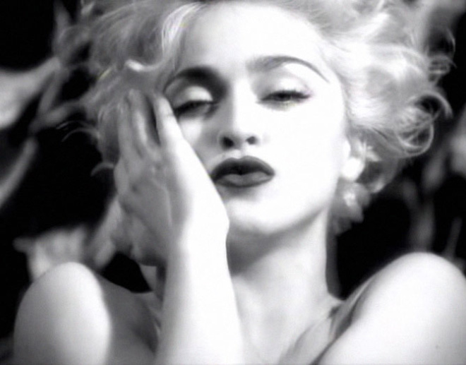 Iconic Madonna picture.