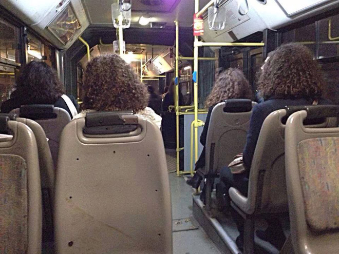 A glitch in the Matrix.