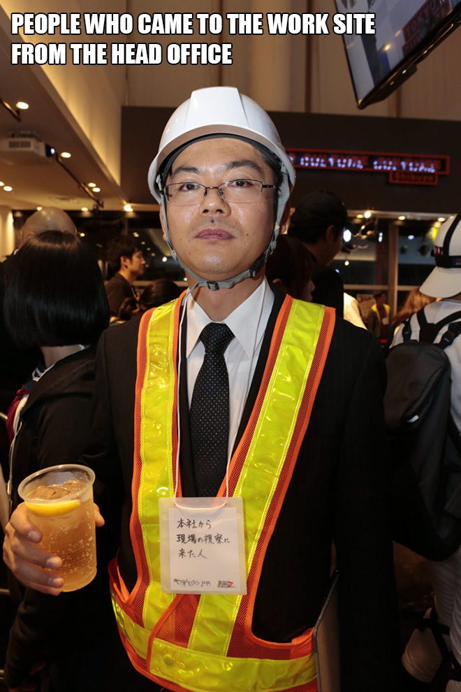 Brilliant Halloween costume from Japan.
