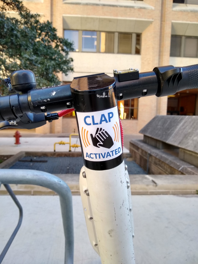 Prank sticker.