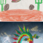 """""""The Monster Project"""" – Where Kids' Monster Doodles Are Recreated by Professional Artists"""