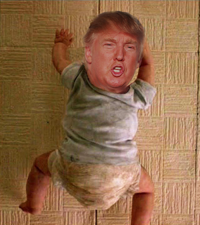 If Trump starred in a horror movie...