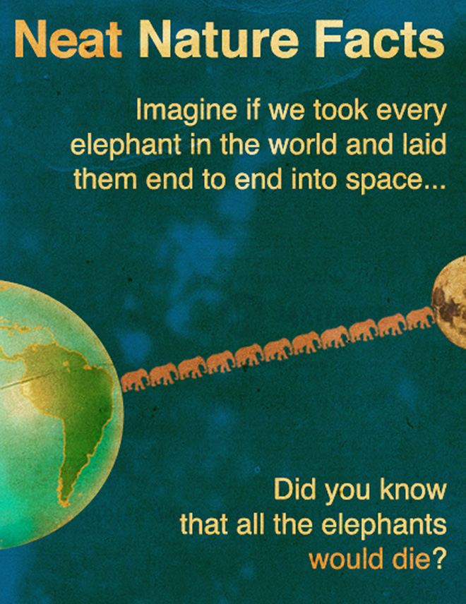 Amazing little known science fact.