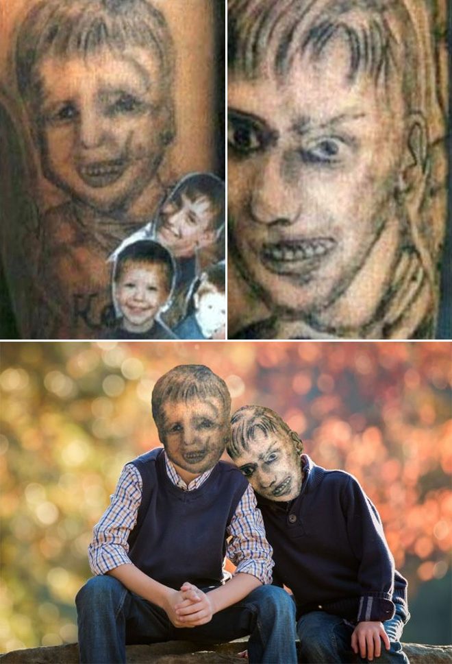 Hilarious tattoo fail.