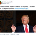 Trump Impeached For The Second Time: Here Are The Funniest Reactions
