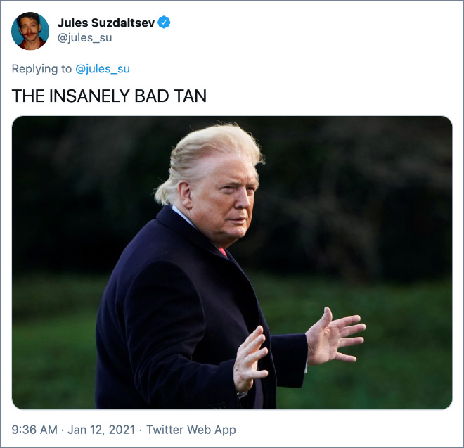 THE INSANELY BAD TAN
