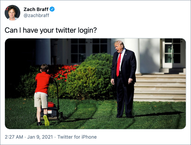 Can I have your twitter login?