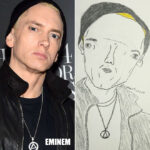 Hilariously Bad Celebrity Portraits by Twitter Picasso