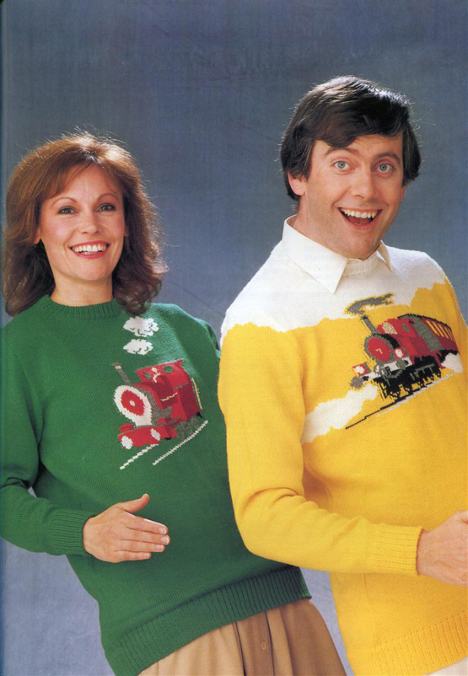 Ugly 1980s sweater.