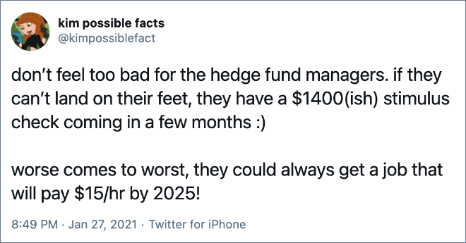 don't feel too bad for the hedge fund managers.