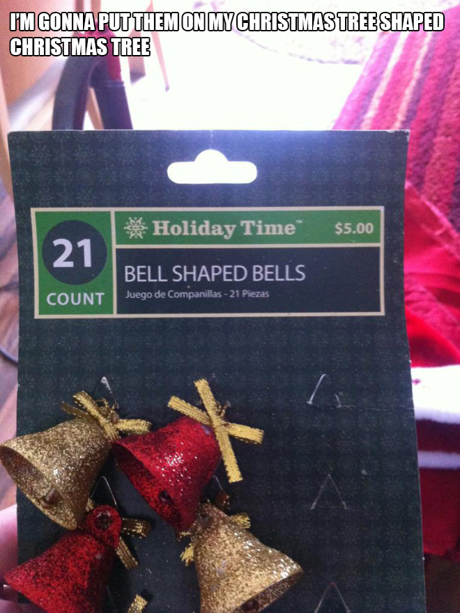 Funny Christmas design fail.